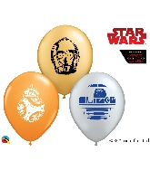 "5"" Star Wars Droids Latex Balloons 100 Count"