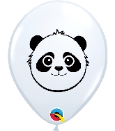"5"" Panda Bear Latex Balloons 100 Count"