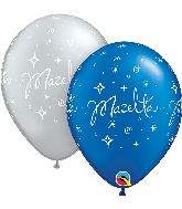"11"" Mazel Tov Latex Balloons 50 Count"
