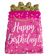 "18"" Birthday Gift Bag Shape Foil Balloon"