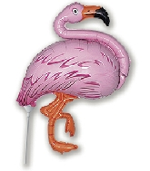 Airfill Only Flamingo Balloon