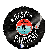 "18"" MAX Float Record Birthday Foil Balloon"