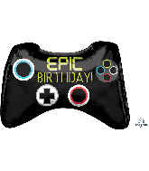 "28"" Jumbo Epic Party Game Controller Foil Balloon"