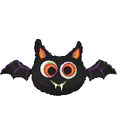 "32"" Big-Eyed Bat Foil Balloon"