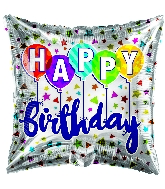 "18"" Birthday Latex Balloon Foil Balloon"