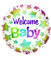 "18"" Welcome Baby Foil Balloon"
