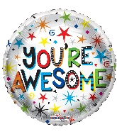 "18"" You&#39re Awesome Foil Balloon"