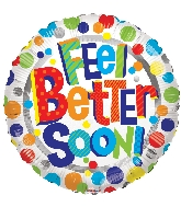 "18"" Feel Better Soon Foil Balloon"