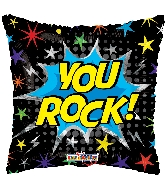 "18"" You Rock! Foil Balloon"