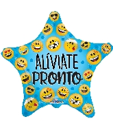 "18"" Aliviate Pronto Smilies Foil Balloon"