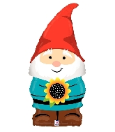"34"" Shape Garden Gnome Foil Balloon"