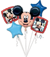 Mickey Roadster Racers Bouquet Foil Balloon