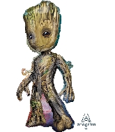 "40"" Baby Groot SuperShape™ XL® Foil Balloon"