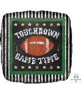 "18"" Game Time Football Foil Balloon"