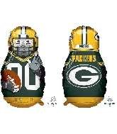 "39"" Football Player Green Bay Packers Foil Balloon"