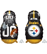 "39"" Football Player Pittsburgh Steelers Foil Balloon"