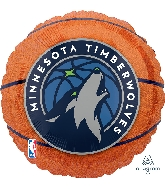 "18"" Minnesota Timberwolves Foil Balloon"