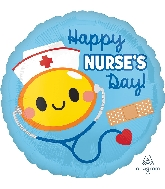 "18"" Happy Nurse&#39s Day Foil Balloon"