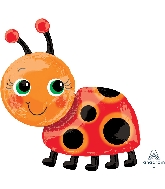 "28"" Miss Ladybug SuperShape™ XL® Foil Balloon"
