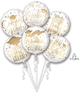 Grad Messages Bouquet Foil Balloon