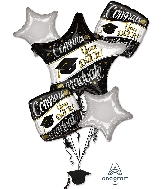 On Your Way Bouquet Foil Balloon