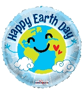 "18"" Earth Day Foil Balloon"