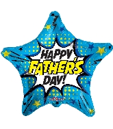 "18"" Father&#39s Day Burst Foil Balloon"