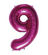 "34"" Northstar Brand Packaged Number 9 - Magenta"