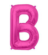 "34"" Northstar Brand Packaged Letter B - Magenta"
