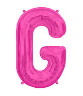 "34"" Northstar Brand Packaged Letter G - Magenta"