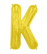 "34"" Northstar Brand Packaged Letter K - Gold"