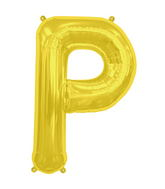 "34"" Northstar Brand Packaged Letter P - Gold"