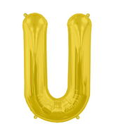 "34"" Northstar Brand Packaged Letter U - Gold"