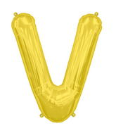 "34"" Northstar Brand Packaged Letter V - Gold"