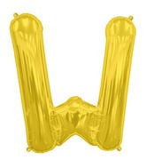 "34"" Northstar Brand Packaged Letter W - Gold"