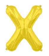 "34"" Northstar Brand Packaged Letter X - Gold"