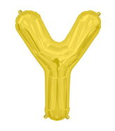 "34"" Northstar Brand Packaged Letter Y - Gold"