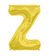 "34"" Northstar Brand Packaged Letter Z - Gold"