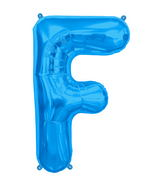 "34"" Northstar Brand Packaged Letter F - Blue"