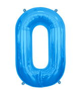 "34"" Northstar Brand Packaged Letter O - Blue"