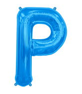 "34"" Northstar Brand Packaged Letter P - Blue"