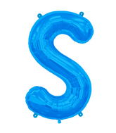 "34"" Northstar Brand Packaged Letter S - Blue"