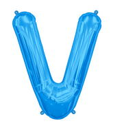 "34"" Northstar Brand Packaged Letter V - Blue"