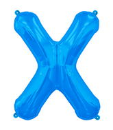 "34"" Northstar Brand Packaged Letter X - Blue"