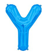 "34"" Northstar Brand Packaged Letter Y - Blue"