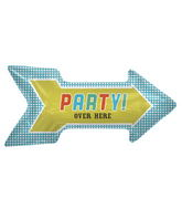"36"" Foil Balloon Party Arrow"