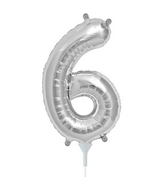 "16"" Airfill Self Sealing Number 6 - Silver"