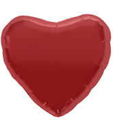 "9"" Airfill Only Red Heart Balloon"