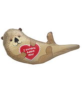"33"" Foil Balloon Otterly Adore You"