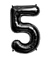 "34"" Foil Balloon Number 5 - Black"